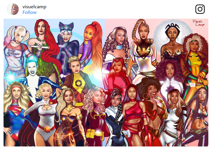 Check out all the badass women in their superhero form: