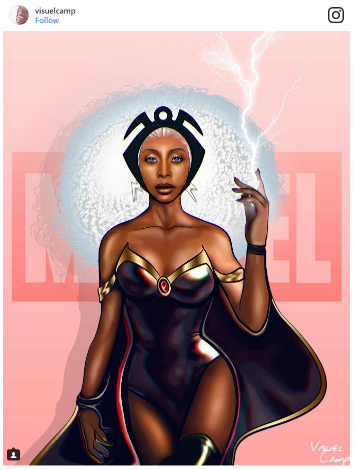9. Erykah Badu as Storm