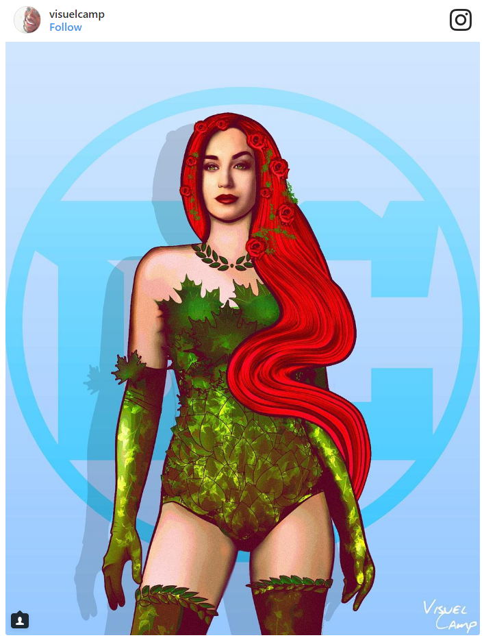 6. Katy Perry as Poison Ivy