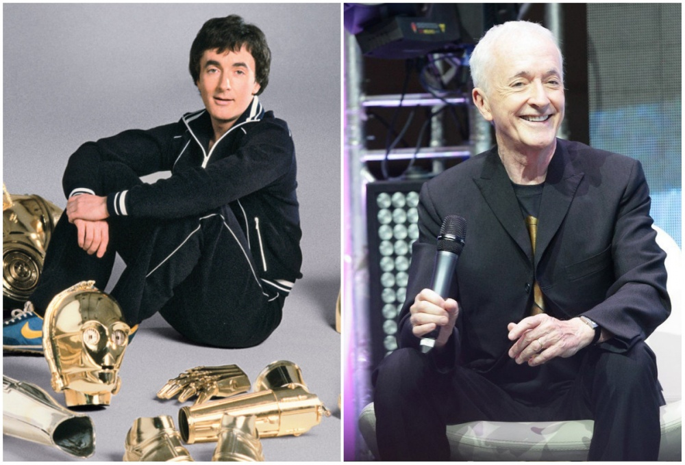 Anthony Daniels (С-3РO), 1977 and 2015