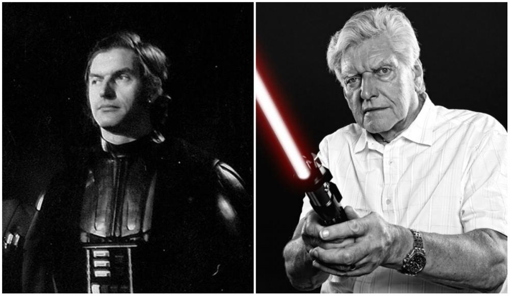 David Prowse (Darth Vader), 1977 and 2015
