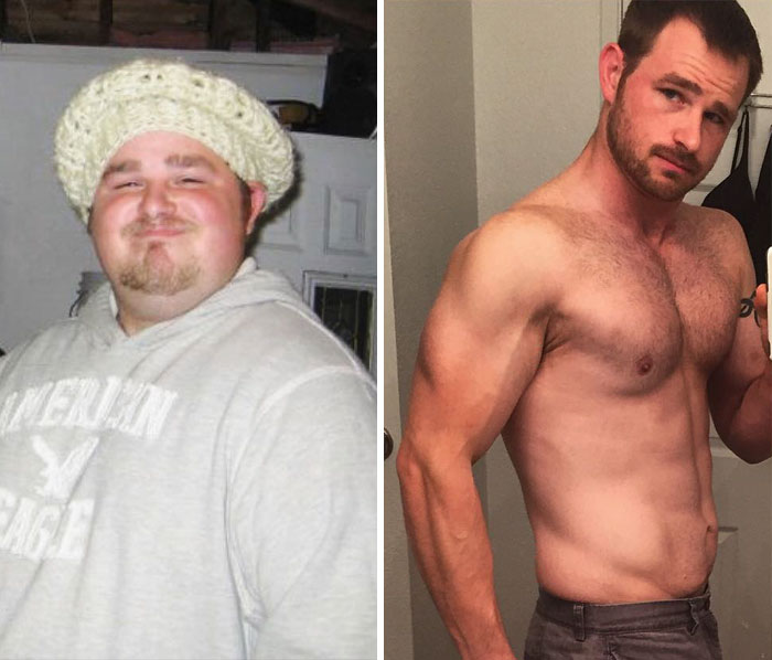 #10 This Homeless Man, Who Gorged On 10,000 Calories A Day While Eating Only Fast Food, Lost 140 Lbs And Found Love