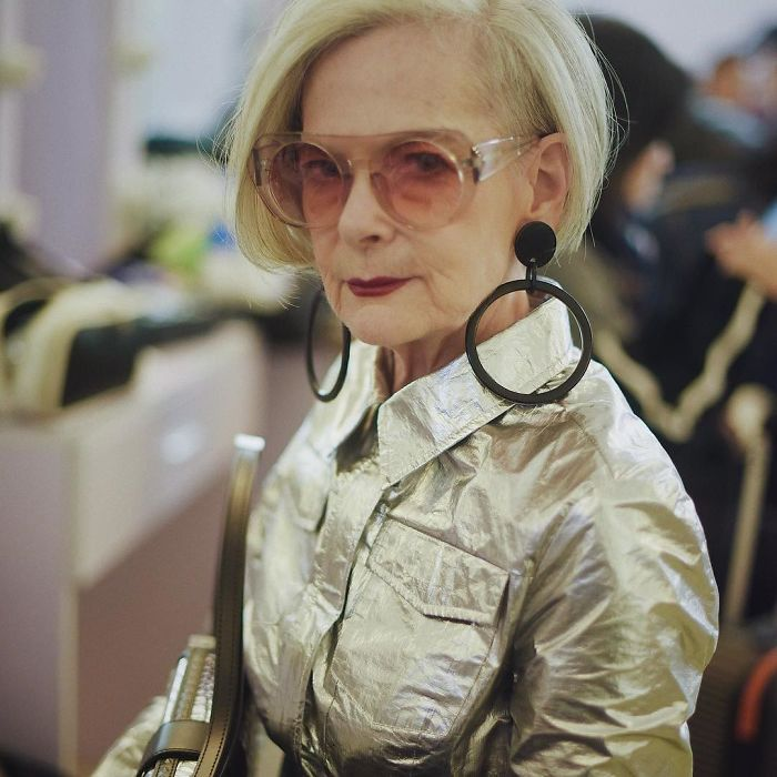 She is now a public voice against ageism in the fashion industry and the world