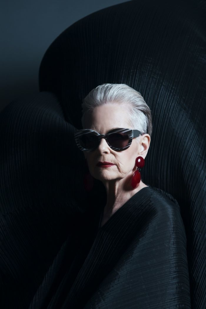 """Fashion and my style help me struggle against that invisibility that comes with age,"" Lyn told Bright Side"