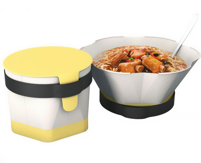 Instant noodle packing box