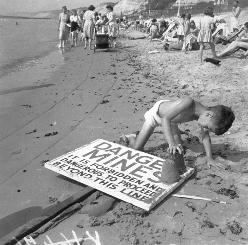 10. The hope of discovering your own secret beach, 1944: