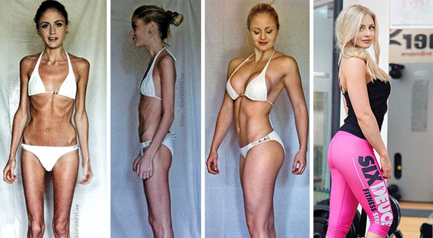 13. Linn Strömberg used to live on only 400 calories a day
