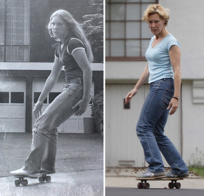3. Me In 1978 And In 2008. This Was My First Board