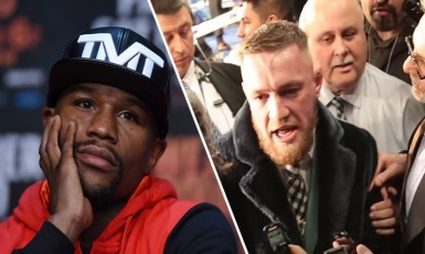 Conor McGregor Goes Full Savage On Reporter About Floyd Mayweather