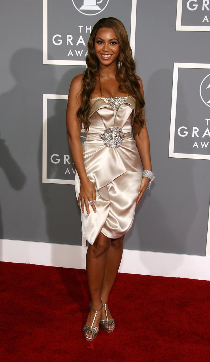 12. 2007 was the year Beyoncé would rock a number like this at the Grammys...