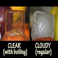 The Reason Why Ice Cubes Are White Inside And It's Not What You Think!