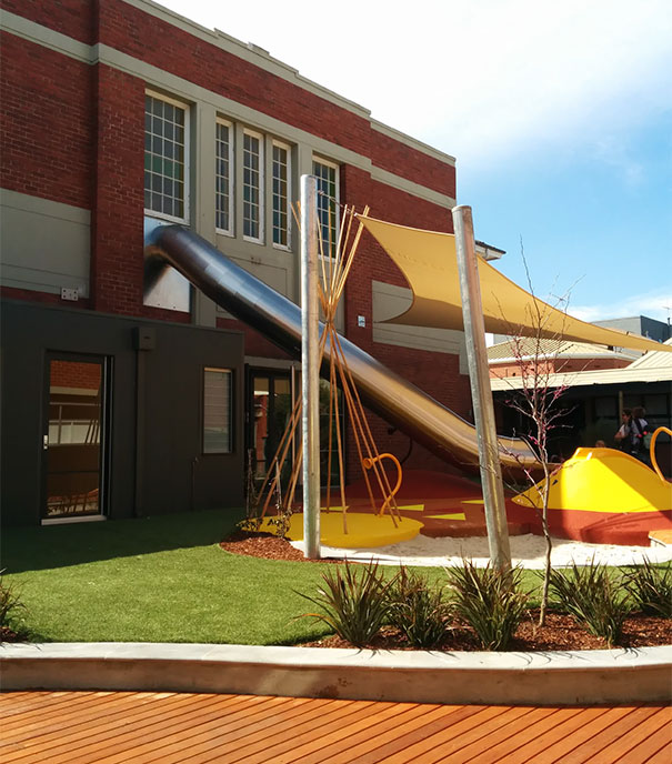 #15 This School Has A Slide Direct From Classroom To Playground. Childhood Dream