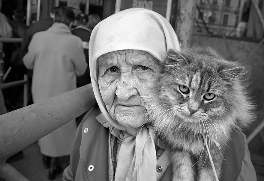 6.old cat lady
