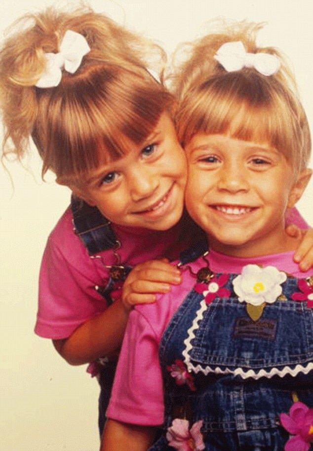 This is how I'll always remember them. Mary-Kate and Ashley Olsen both played Michelle Tanner on Full House and they  rocked it.