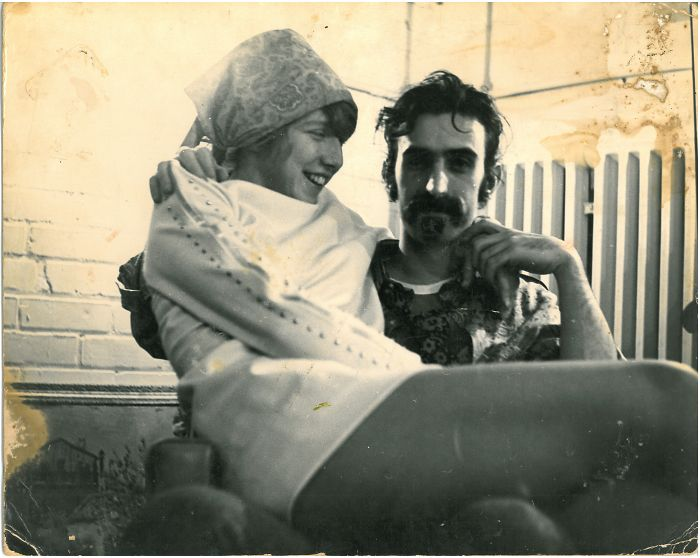 #11 My Mother On Frank Zappa's Lap, 1968
