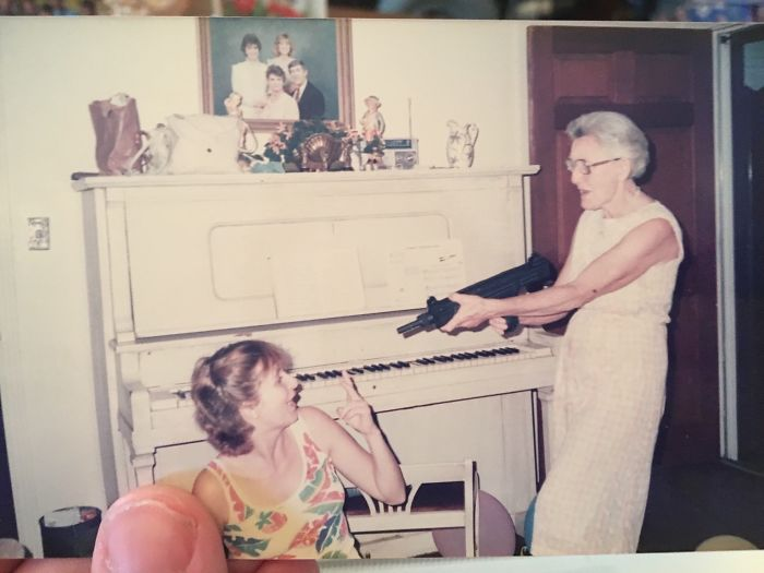 #12 My Great Grandma And Mom In The Early 80's