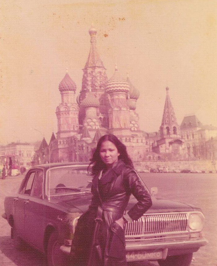 supermoms. #1 My Mom In Moscow 1975. From All The Stories She's Told Me About Her Travels, I Wouldn't Be Surprised If She Was A Spy
