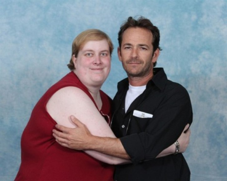 Luke Perry has some pretty devoted - and intense - fans.