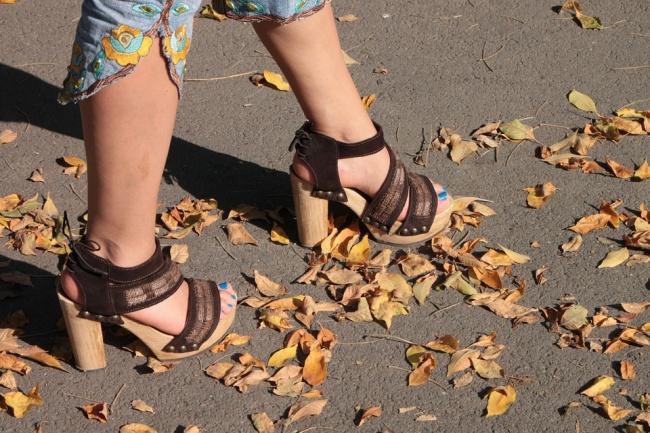 2. High heels