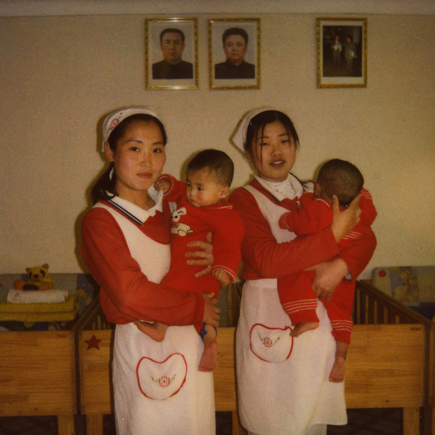 Nurses in a kindergarden Nampo.