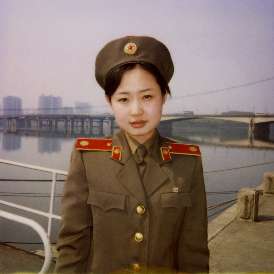 Miss Kim, she was a perfect French speaking guide at the War Museum. I met her 5 times during my trips, she kept on telling me she learned French in Pyongyang university.