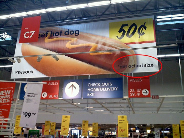 2. HAHAHAHA only giant can eat a big size of that hotdog sandwich