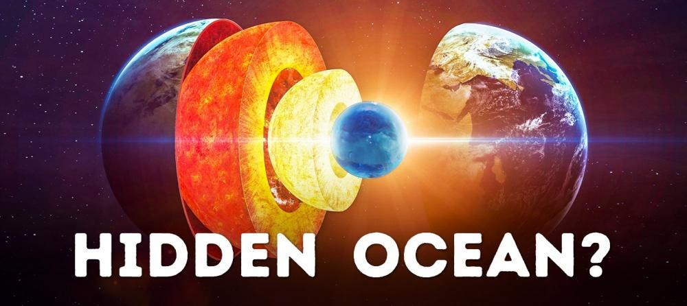 A hidden ocean beneath the Earth's crust