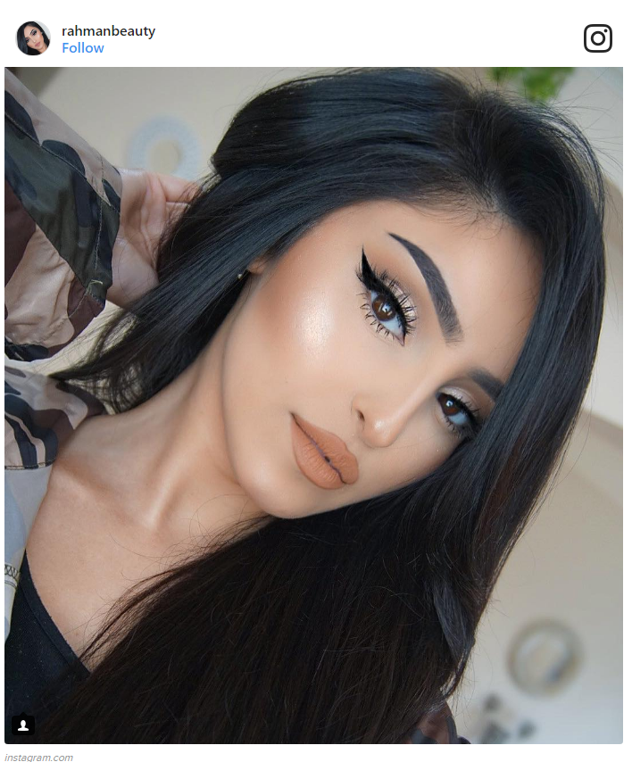 1. Getting a perfect winged liner on you FIRST try.