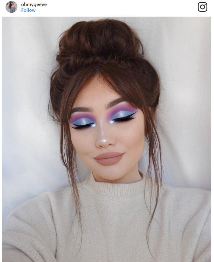 8. Creating a perfect eyeshadow combo and wondering how something could be so beautiful!?