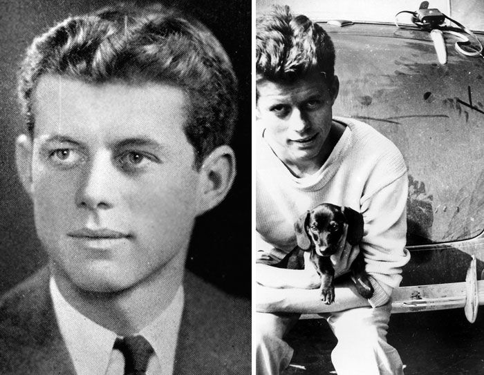 #3 John F Kennedy (21 Years Old and 20 Years Old)