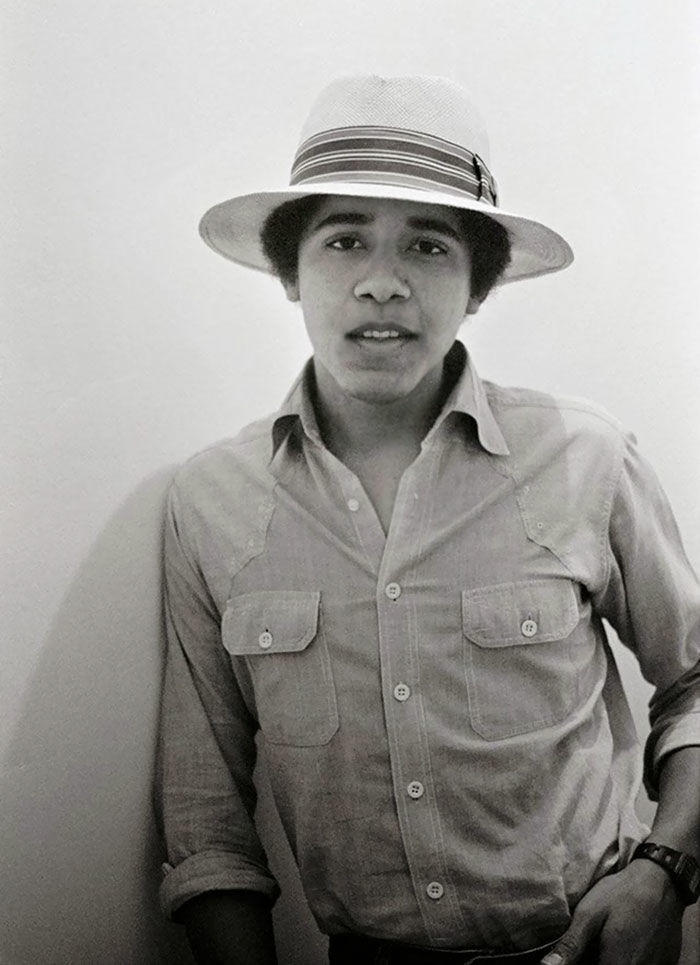 #1 Barack Obama (18 Years Old)