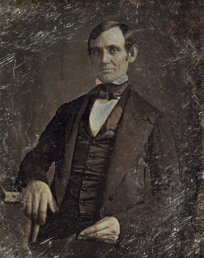 #5 Abraham Lincoln (30-something Years Old)