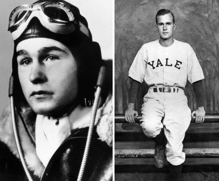 #10 George H W Bush (18 Years Old)