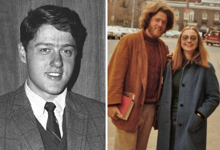 #6 Bill Clinton (22 Years Old and 26 Years Old)