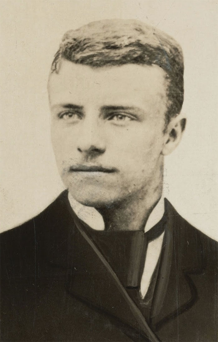#2 Theodore Roosevelt (20 Years Old)